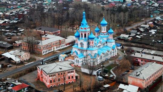 Князе-Владимирский мужской монастырь в Иркутске