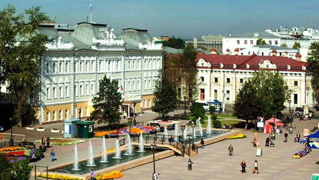 Московское подворье в Иркутске
