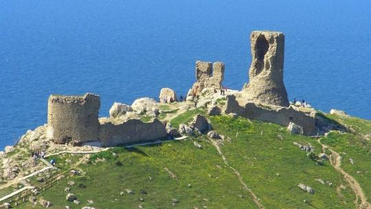 Крепость Чембало в Коктебеле