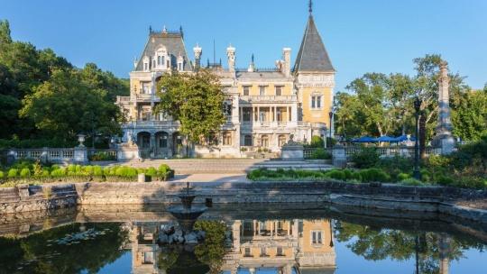 Массандровский дворец по Севастополю