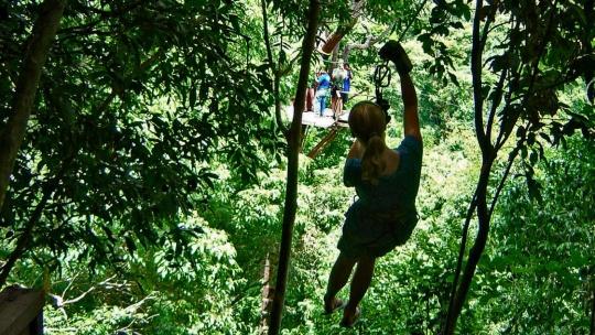 Экскурсия По канатам над джунглями по Самуи