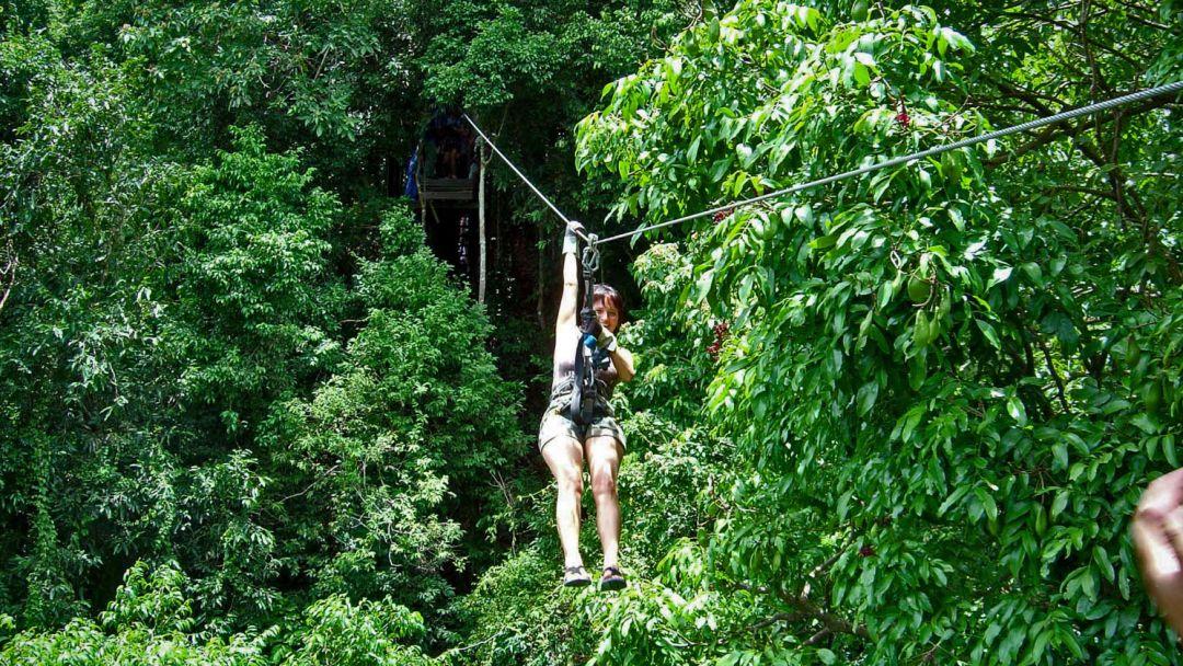 По канатам над джунглями - фото 2
