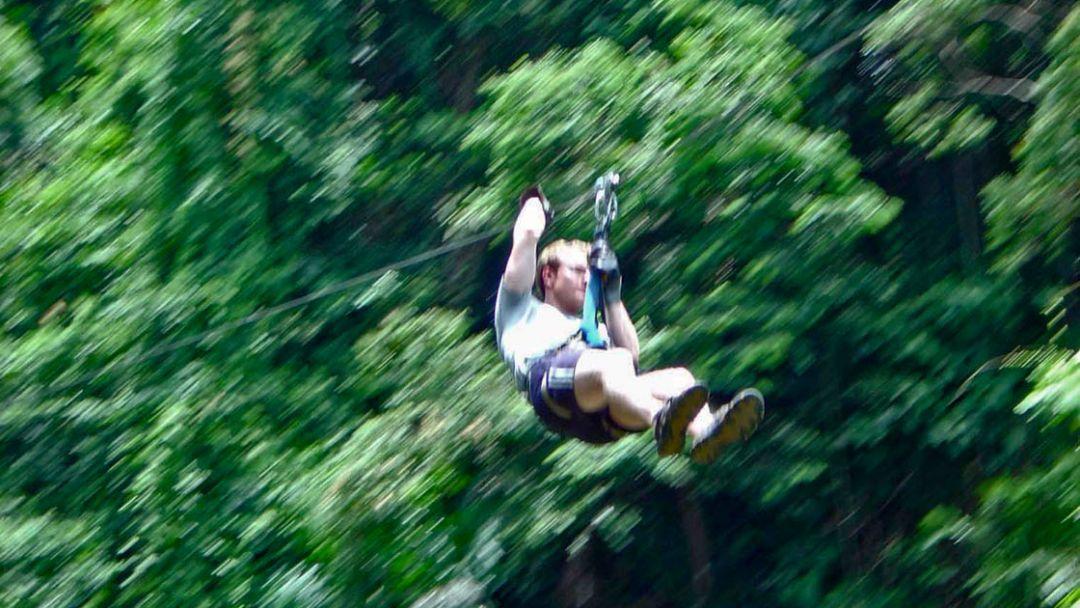 По канатам над джунглями - фото 4
