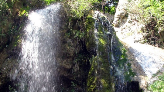 Водопад Су-Учхан по Кореизу