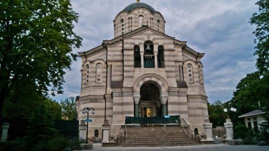 Владимирский собор - усыпальница адмиралов в Коктебеле