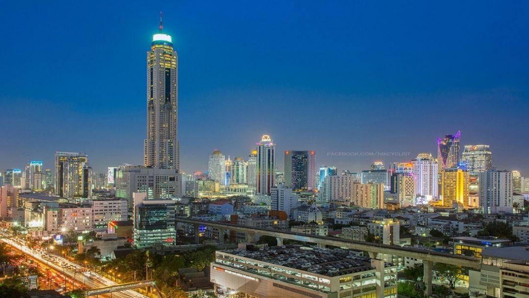 Бангкок с высоты птичьего полета - фото 2