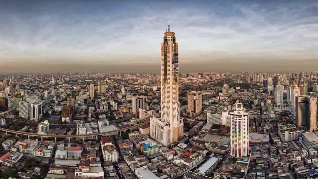 Бангкок с высоты птичьего полета - фото 7