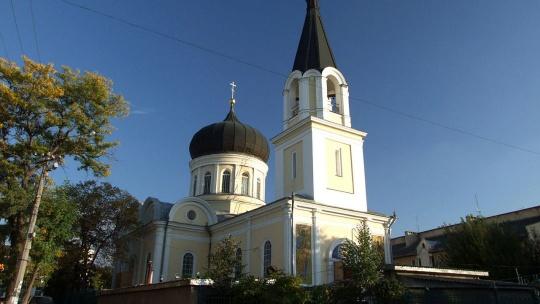 Петропавловский кафедральный собор по Симферополю