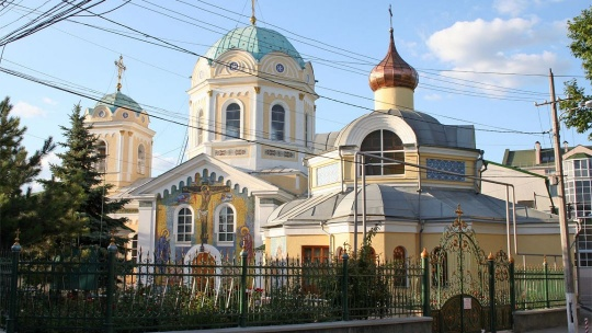 Свято-Троицкий собор по Ливадии