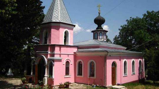 Топловский Свято-Троице Параскевиевский монастырь по Кореизу