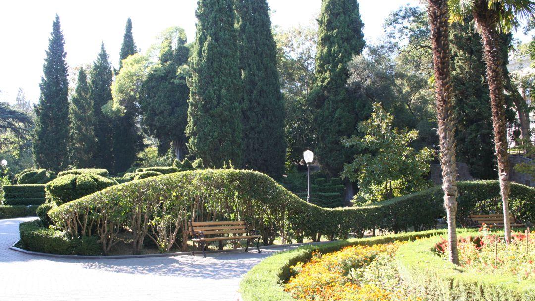 Гурзуфский парк в Гурзуфе