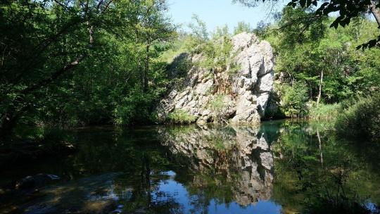 Чернореченский каньон в Керчи