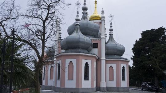 Храм Святого Иоанна Златоуста в Симеизе
