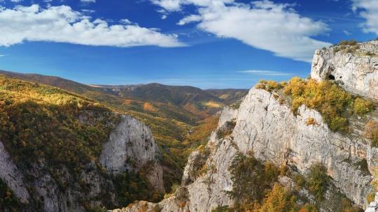 Большой каньон Крыма по Кореизу