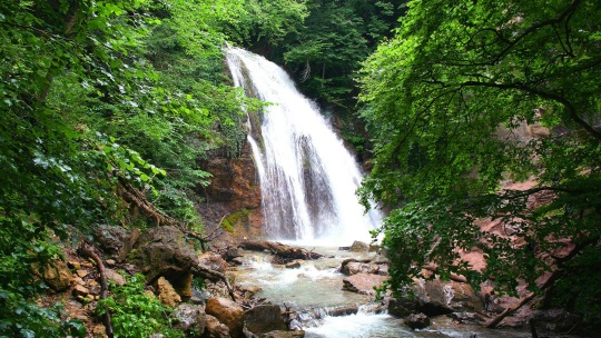 Водопад Джур-Джур по Симферополю