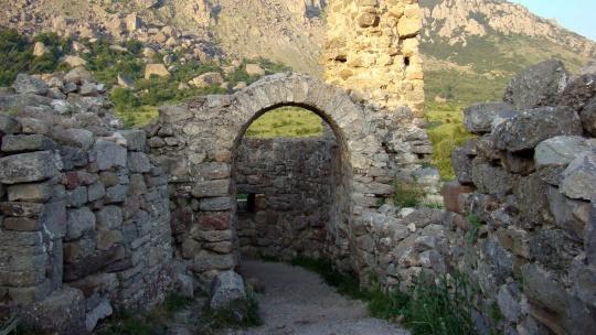 Крепость Фуна в Симеизе