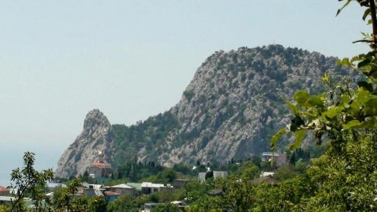 Гора Кошка по Орловке