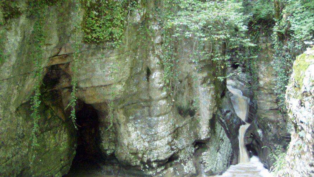 Агурское ущелье в Сочи