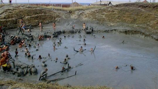 Тиздар - грязевой вулкан в Феодосии
