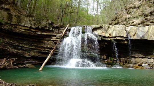 Водопады Пшада в Сочи
