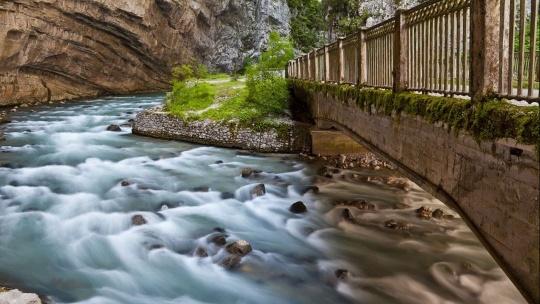 Река Юпшара в Сочи