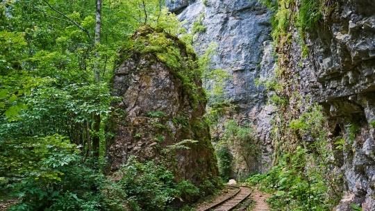 Гуамское ущелье в Туапсе