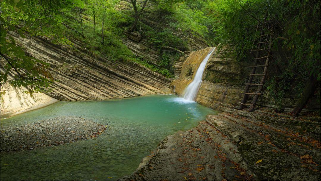 Водопады Куаго в Геленджике