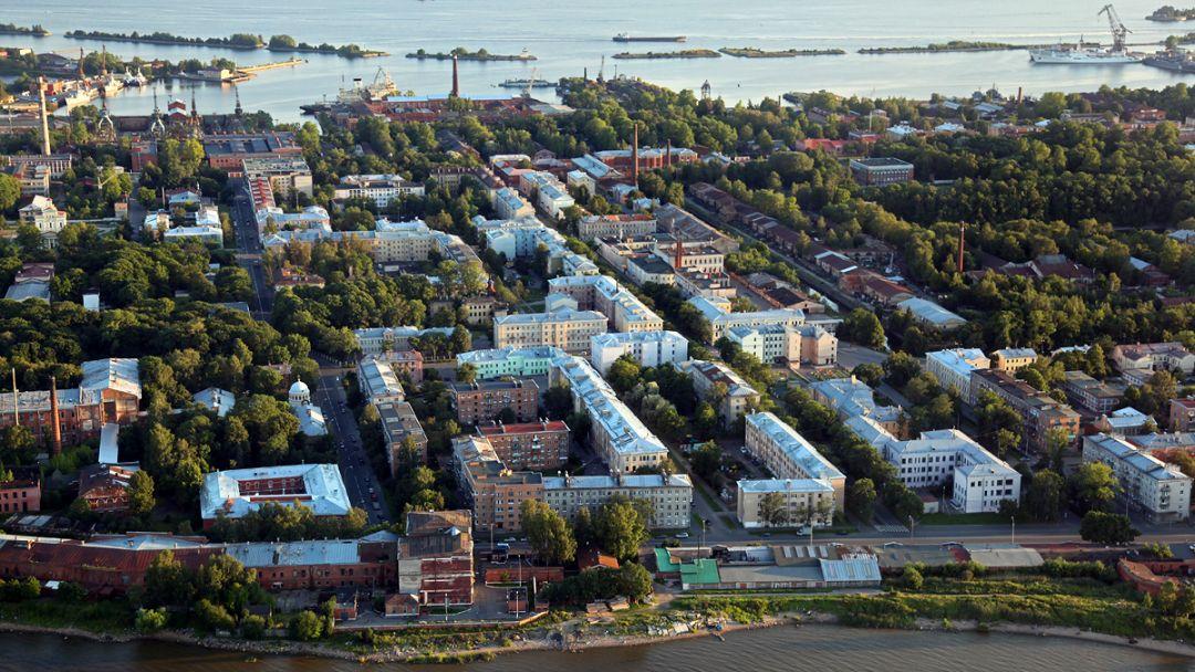 Кронштадт в Санкт-Петербурге