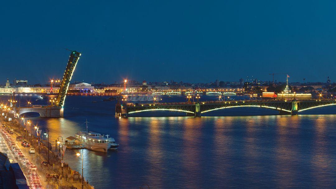 Троицкий мост (Санкт-Петербург) в Санкт-Петербурге