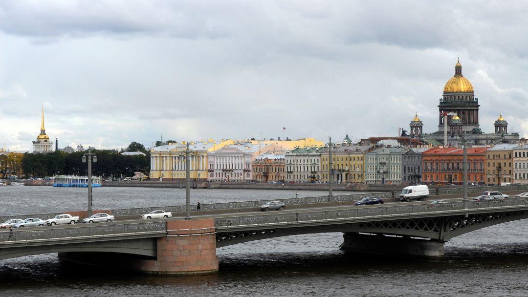 Благовещенский мост в Санкт-Петербурге