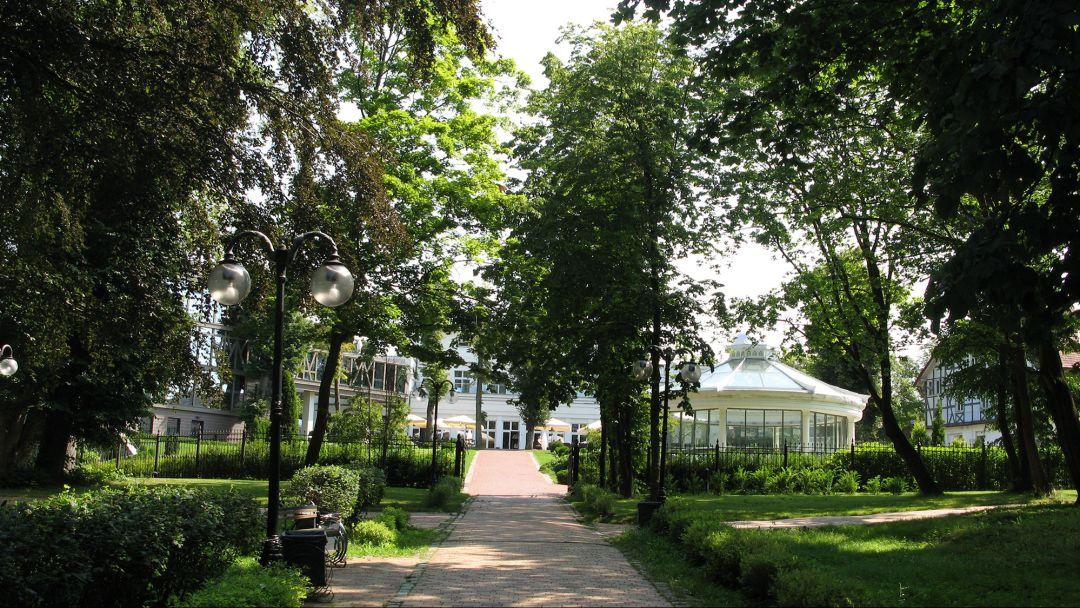 Парк имени Морица Беккера по Калининграду