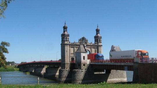 Мост королевы Луизы по Калининграду