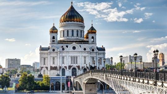 Храм Христа Спасителя по Москве