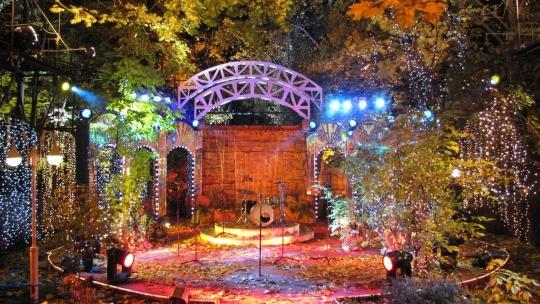 Нескучный сад по Москве