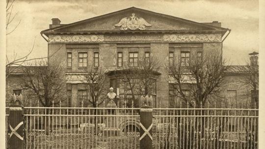 Фанагорийские казармы по Москве