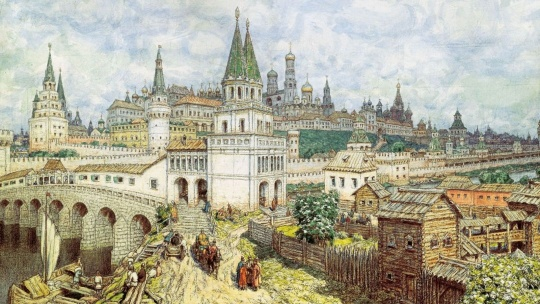 Земляной вал по Москве