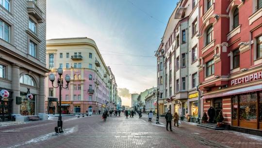 Улица Арбат по Москве