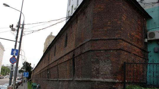 Китайгородская стена по Москве