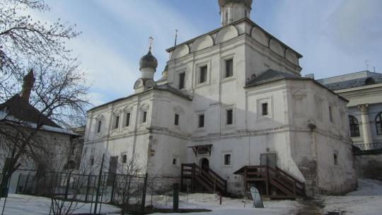 Храм Максима Блаженного по Москве