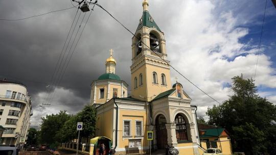 Храм Ильи Пророка по Москве