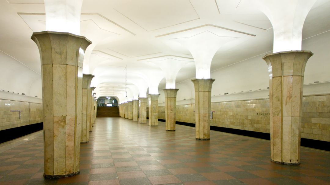Станция метро Кропоткинская по Москве