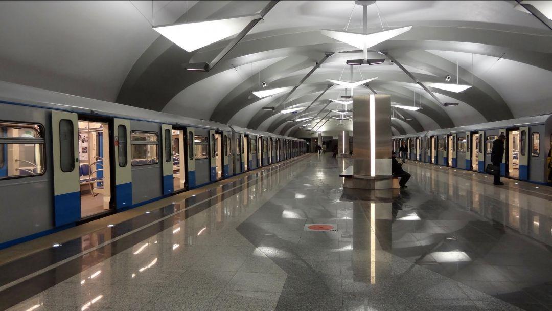 Московский метрополитен по Москве