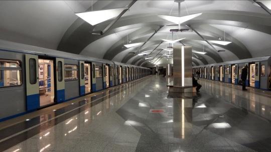 Московский метрополитен в Москве