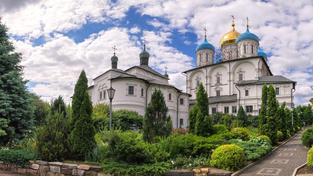 Новоспасский монастырь по Москве