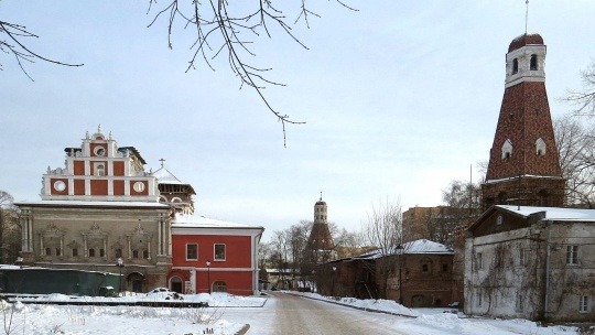 Симонов Успенский монастырь по Москве