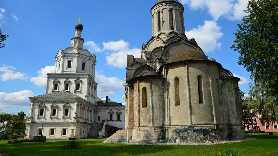 Андроников монастырь по Москве