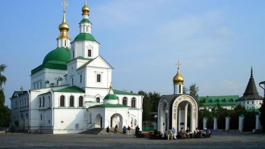Данилов монастырь по Москве