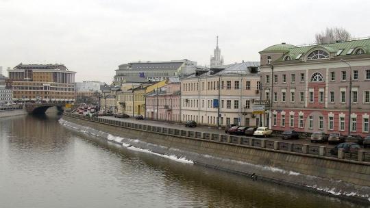 Кадашёвская слобода по Москве