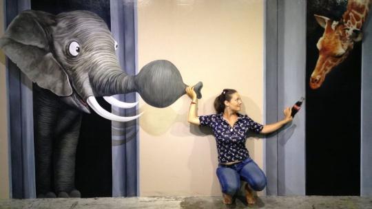 Экскурсия Перевернутый дом + 3D музей в Пхукете