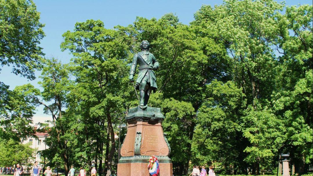 Петровский парк по Москве
